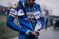 STYBAR Zdeněk (CZE/Deceuninck-Quick Step) post-race<br /> <br /> GP Sven Nys (BEL) 2019<br /> DVV Trofee<br /> ©kramon