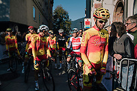 Jesus Herrada (ESP/Cofidis) at the race start<br /> <br /> MEN ELITE ROAD RACE<br /> Kufstein to Innsbruck: 258.5 km<br /> <br /> UCI 2018 Road World Championships<br /> Innsbruck - Tirol / Austria