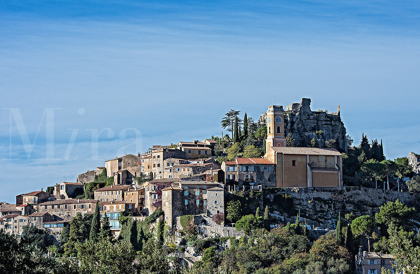 Hilltop town of Eza, Cote d'Azur, France