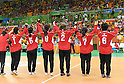 Japan Women's team group (JPN), <br /> SEPTEMBER 14, 2016 - Goalball : <br /> Quarter Final match between China 5-3 Japan <br /> at Future Arena<br /> during the Rio 2016 Paralympic Games in Rio de Janeiro, Brazil.<br /> (Photo by AFLO SPORT)