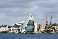 Western Australian Maritime Museum on the harbour in Fremantle, Western Australia, AUSTRALIA.