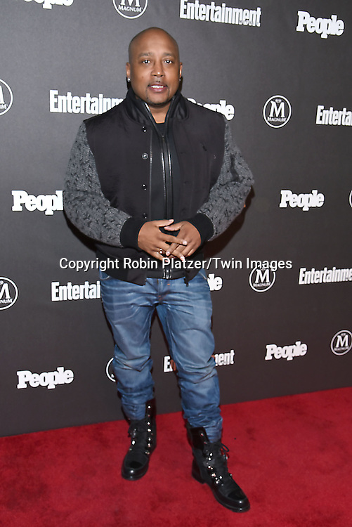 Daymond John attends the Entertainment Weekly &amp; PEOPLE Magazine New York Upfronts Celebration on May 16, 2016 at Cedar Lake in New York, New York, USA.<br /> <br /> photo by Robin Platzer/Twin Images<br />  <br /> phone number 212-935-0770