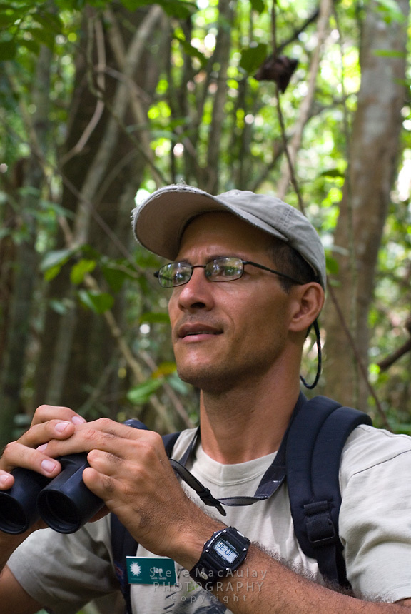 Ian Sanchez, guide, Smithsonian Tropical Research Institute, STRI, Barro Colorado, Lago Gatun, Panama