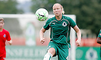 Sara Larsson..Saint Louis Athletica were defeated 1-0 by Washington Freedom at Anheuser-Busch Soccer Park in Fenton, Missouri.