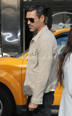 NEW YORK, NY - NOVEMBER 8: Eddie Cibrian Seen In New York City on November 8, 2018. Credit: RW/MediaPunch