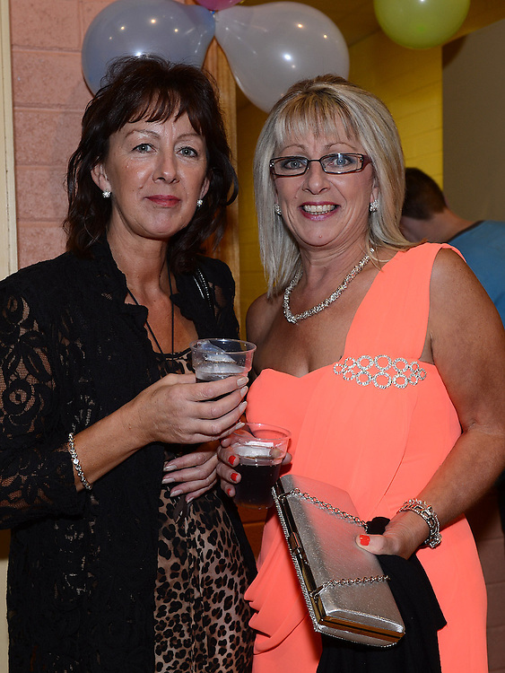 Mary Murphy and Patricia Moynagh pictured at the Englishby family gathering held in Mattock Rangers Community Centre. Photo:Colin Bell/pressphotos.ie