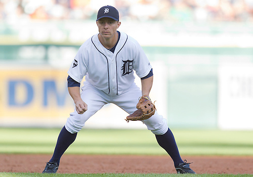 June 28, 2011:  Detroit Tigers third baseman Brandon Inge (#15) during MLB game action between the New York Mets and the Detroit Tigers at Comerica Park in Detroit, Michigan.  The Mets defeated the Tigers  14-3.