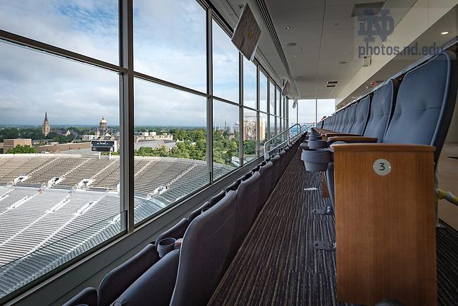 August 31, 2016; Premium seating area, Corbett Family Hall (Photo by Matt Cashore/University of Notre Dame)