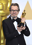 04.03.2018; Hollywood, USA: BEST ACTOR GARY OLDMAN <br /> at the 90th Annual Academy Awards held at the Dolby&reg; Theatre in Hollywood.<br /> Mandatory Photo Credit: &copy;Francis Dias/Newspix International<br /> <br /> IMMEDIATE CONFIRMATION OF USAGE REQUIRED:<br /> Newspix International, 31 Chinnery Hill, Bishop's Stortford, ENGLAND CM23 3PS<br /> Tel:+441279 324672  ; Fax: +441279656877<br /> Mobile:  07775681153<br /> e-mail: info@newspixinternational.co.uk<br /> Usage Implies Acceptance of Our Terms &amp; Conditions<br /> Please refer to usage terms. All Fees Payable To Newspix International