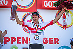 Alexander Kristoff (NOR) UAE Team Emirates wins Stage 2 of the Deutschland Tour 2019, running 202km from Marburg to Gottingen, Germany. 30th August 2019.<br /> Picture: ASO/Marcel Hilger | Cyclefile<br /> All photos usage must carry mandatory copyright credit (© Cyclefile | ASO/Marcel Hilger)