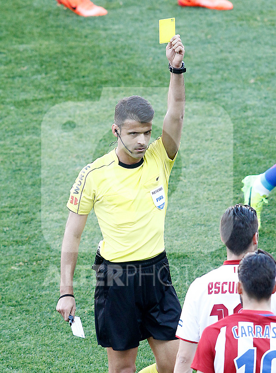 Spanish referee Jesus Gil Manzano during La Liga match. March 19,2017. (ALTERPHOTOS/Acero)