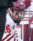 Niko Hildenbrand (UMass - 19) - The Boston University Terriers defeated the University of Massachusetts Minutemen 5-3 on Sunday, January 8, 2017, at Fenway Park in Boston, Massachusetts.The Boston University Terriers defeated the University of Massachusetts Minutemen 5-3 on Sunday, January 8, 2017, at Fenway Park.