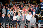 Tom Nealon, Oakpark, Tralee (front centre) packed the Meadowlands Hotel, Tralee to the rafters on the occasion of his 90th birthday last Saturday night surrounded by many friends and family.