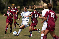 SAN ANTONIO, TX - SEPTEMBER 23, 2007: The Iona College Gaels vs. University of Texas at The San Antonio Roadrunners Women's Soccer at the UTSA Soccer Field. (Photo by Jeff Huehn)