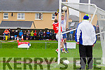 Goal number two for St Marys came from a cross from Denis Daly into the into the waiting hands of Daniel Daly which he palmed into the back for the net for the home side.