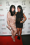 VH-1 Mob Wives' Rene Graziano and Angelina Pivarnick attend New Premium Lounge Signed by INDASHIO Men's Collection Fashion Show at AUDI FORUM, NY 9/13/11