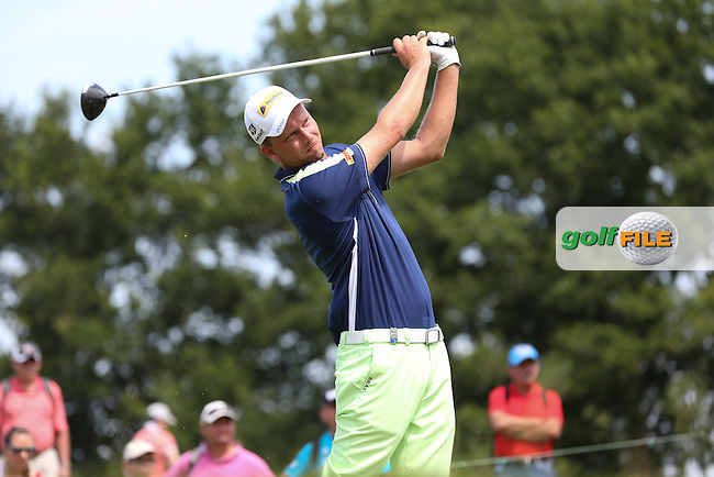 Marcel Siem (GER) during Round Three of the 2015 Alstom Open de France, played at Le Golf National, Saint-Quentin-En-Yvelines, Paris, France. /04/07/2015/. Picture: Golffile | David Lloyd<br /> <br /> All photos usage must carry mandatory copyright credit (&copy; Golffile | David Lloyd)