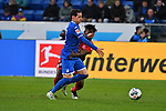 30.11.2019, PreZero-Arena, Sinsheim, GER, 1. FBL, TSG 1899 Hoffenheim vs. Fortuna Duesseldorf, <br /> <br /> DFL REGULATIONS PROHIBIT ANY USE OF PHOTOGRAPHS AS IMAGE SEQUENCES AND/OR QUASI-VIDEO.<br /> <br /> im Bild: Sebastian Rudy (TSG 1899 Hoffenheim #16), Kasim Adams (Fortuna Duesseldorf #4)<br /> <br /> Foto © nordphoto / Fabisch