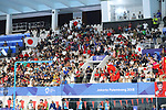 General view, <br /> AUGUST 19, 2018 - Swimming : <br /> Women's 200m Backstroke Final <br /> at Gelora Bung Karno Aquatic Center <br /> during the 2018 Jakarta Palembang Asian Games <br /> in Jakarta, Indonesia. <br /> (Photo by Naoki Nishimura/AFLO SPORT)