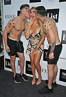 Aisleyne Horgan-Wallace at The List Celebrity Mixer dating app party, FEST Camden, Chalk Farm Road, London, England, UK, on Wednesday 03rd July 2019.<br /> CAP/CAN<br /> ©CAN/Capital Pictures