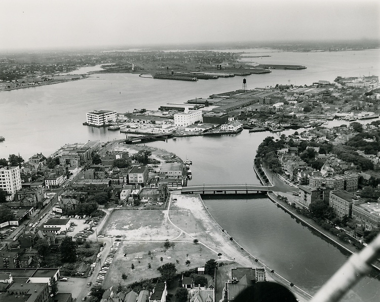 UNDATED..Redevelopment.Atlantic City (R-1)..View looking West to Atlantic City ...NEG#.NRHA# 322..