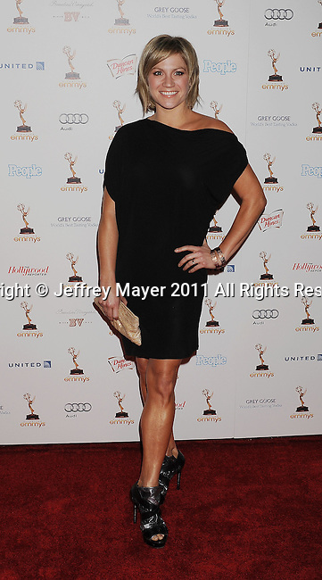 WEST HOLLYWOOD, CA - SEPTEMBER 16: Stacey Tookey attends the 63rd Annual Emmy Awards Performers Nominee Reception held at the Pacific Design Center on September 16, 2011 in West Hollywood, California.