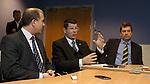 Stewart Regan, Neil Doncaster and David Longmuir outline their plans for league reconstruction next season
