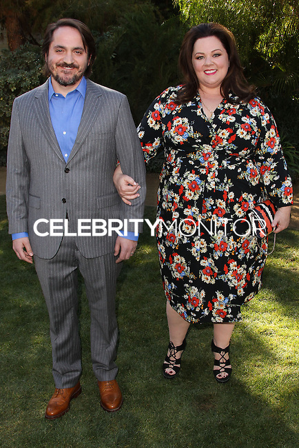 PALM SPRINGS, CA - JANUARY 05: Ben Falcone, Melissa McCarthy arriving at Variety's Creative Impact Awards And 10 Directors to Watch Brunch during the 25th Annual Palm Springs International Film Festival held at Parker Palm Springs on January 5, 2014 in Palm Springs, California. (Photo by Xavier Collin/Celebrity Monitor)