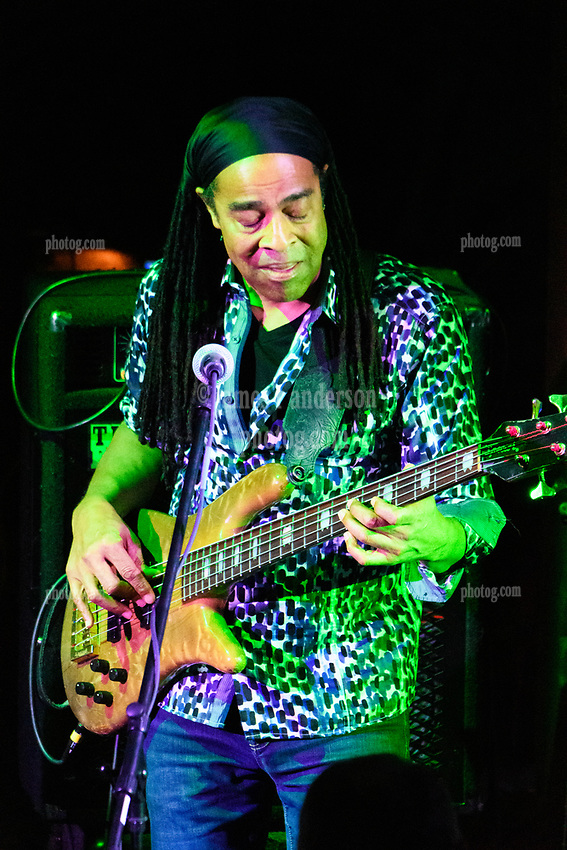 Doug Wimbish. Steal Your Funk Featuring Doug Wimbish and Tim Palmieri at The Stone Church Brattleboro VT on 7 April 2018