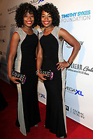 BEVERLY HILLS - NOV 11: The Newman Twins at AMT's 2017 D.R.E.A.M. Gala benefiting Autism Works Now at Montage Beverly Hills on November 11, 2017 in Beverly Hills, California