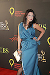 Hunter Tylo - dress is her design at the 38th Annual Daytime Entertainment Emmy Awards 2011 held on June 19, 2011 at the Las Vegas Hilton, Las Vegas, Nevada. (Photo by Sue Coflin/Max Photos)