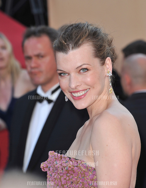 "Milla Jovovich at the premiere of ""Exodus - Burnt by the Sun"" at the 63rd Festival de Cannes..May 22, 2010  Cannes, France.Picture: Paul Smith / Featureflash"
