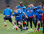 27.04.2018 Rangers training: Greg Docherty