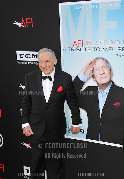 Mel Brooks at the 41st AFI Life Achievement Award honoring Mel Brooks at the Dolby Theatre, Hollywood.<br /> June 6, 2013  Los Angeles, CA<br /> Picture: Paul Smith / Featureflash
