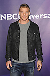Alan Ritchson arriving at NBCUniversal Summer Press Day 2015 arrivals, held at the Langham Huntington Hotel Pasadena Ca. on April 2, 2015