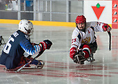 St. John's, NL - Dec 1 2019: USA vs Russia at the 2019 Canadian Tire Para Hockey Cup at the Double Ice Complex in Paradise, Newfoundland, Canada. (Photo by Matthew Murnaghan/Hockey Canada)
