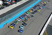 #78: Martin Truex Jr., Furniture Row Racing, Toyota Camry Auto-Owners Insurance and #24: William Byron, Hendrick Motorsports, Chevrolet Camaro Hertz