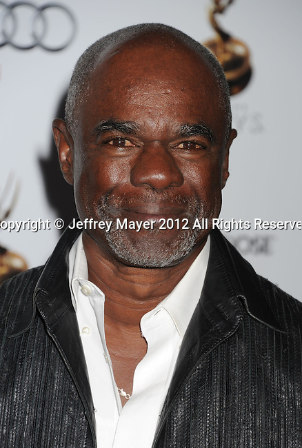 WEST HOLLYWOOD, CA - SEPTEMBER 21: Glynn Turman attends the 64th Primetime Emmy Awards Performers Nominee reception held at Spectra by Wolfgang Puck at the Pacific Design Center on September 21, 2012 in West Hollywood, California.