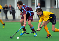 Boys 1st XI hockey. Kuranui College v Tararua College Sports Exchange at Clareville Twin Turfs in Carterton, New Zealand on Friday, 11 August 2017. Photo: Dave Lintott / lintottphoto.co.nz