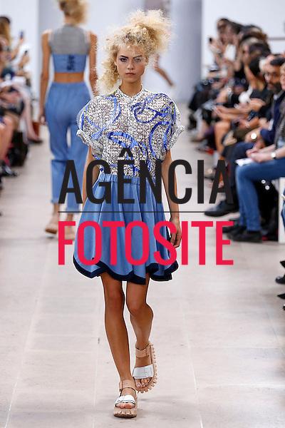 Paris, Fran&ccedil;a &sbquo;09/2014 - Desfile de Julien David durante a Semana de moda de Paris  -  Verao 2015. <br /> <br /> Foto: FOTOSITE
