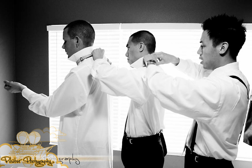 Desiree Peterlin and Nguyen Vu Dinh's wedding on Saturday, October 29, 2011 at St. Margaret Mary Catholic Church in Winter Park, Florida. They got ready at Desiree's mom's home in Winter Springs, the groom got ready at their home in Clermont, the reception took place at the Winter Park Civic Center and some photos were taken at Rollins College. (James Shaffer of http://www.PilsterPhotography.net)Desiree Peterlin and Nguyen Vu Dinh's wedding on Saturday, October 29, 2011 at the Winter Park Civics Center in Winter Park, Florida, The ceremony took place at St. Margaret Mary Catholic Church in Winter Park, Florida. The bride got ready at her mom's home in Winter Springs. The groom got ready at their home in Clermont, the reception took place at the Winter Park Civic Center and some photos were taken at Rollins College. (Aldrin Capulong for http://www.PilsterPhotography.net)