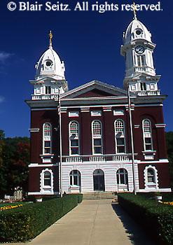 County courthouse, Franklin, Venango Co.,NW  PA