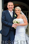 Joanne Sugrue, daughter of Eddie & Joanie Sugrue, Listowel & Maurice Joy, son of Marie & the late Dan Joy, Killocrim, Listowel who were married in a civil ceremony at the Listowel Arms Hotel on Friday last. Best man was Christopher O'Sullivan and the groomsmen were Declan Hennessy, James Joy & Kieran McCarthy. The bridesmaids were Samantha Sugrue, Donna Brosnam, Karen Kelliher & Sarah Cahalane. The flower girl was Katylnn Joy and the page boy was Gavin Joy. The reception was held in The Listowel Arms Hotel.