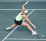 Sabine Lisicki (GER) battles at the Family Circle Cup in Charleston, South Carolina on April 4, 2012.