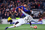 UEFA Champions League 2018/2019.<br /> Round of 16 2nd leg.<br /> FC Barcelona vs Olympique Lyonnais: 5-1.<br /> Mathieu Gorgelin vs Philippe Coutinho.