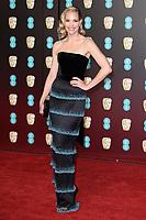 Leslie Bibb arriving for the BAFTA Film Awards 2018 at the Royal Albert Hall, London, UK. <br /> 18 February  2018<br /> Picture: Steve Vas/Featureflash/SilverHub 0208 004 5359 sales@silverhubmedia.com