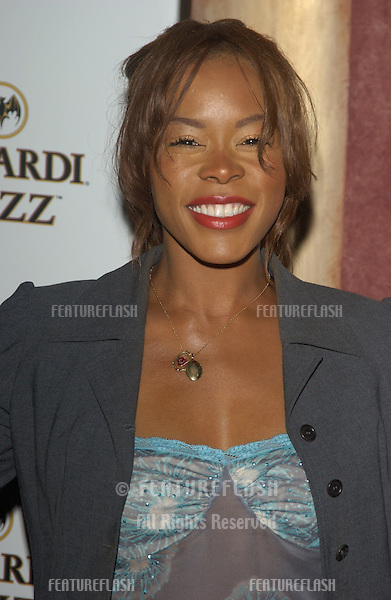 Actress GOLDEN BROOKS at party in Hollywood for Premiere magazine's Premiere The New Power issue..June 2, 2004