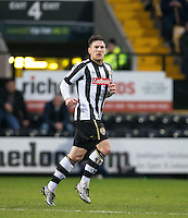 Matt Tootle of Notts Co during the Sky Bet League 2 match between Notts County and Wycombe Wanderers at Meadow Lane, Nottingham, England on 10 December 2016. Photo by Andy Rowland.