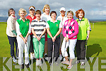 CAPTS: Lady Capts day golfing at Tralee Golf Club on Sunday, Front l-r: maura Mckenna (lady President), Geraldine Reen, Ann O'Driscoll ( ladycapt) and Bernie Buckley. Back l-r: Fiona Lally, Kay Mcnamara, Suzanne Boyle, Grainne Sheehy and Dor O'Driscoll.