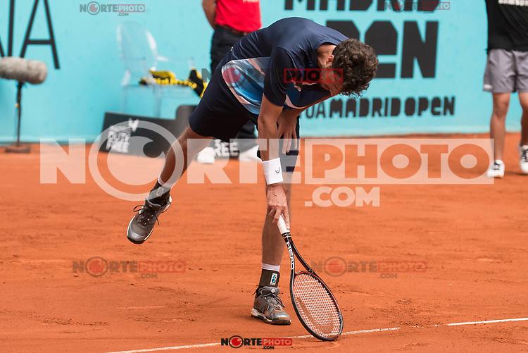 Dutch Robin Haase during Mutua Madrid Open Tennis 2017 at Caja Magica in Madrid, May 10, 2017. Spain.<br /> (ALTERPHOTOS/BorjaB.Hojas) /NortePhoto.com **NortePhoto.com